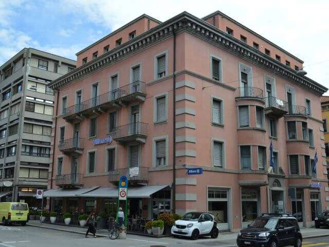 Lugano TI Via Dufour 4 & Via Ginevra 4