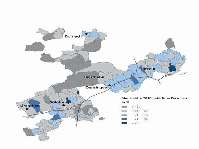Solothurn SO, Factsheet zum Immobilienmarkt