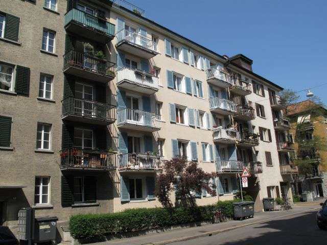 Zürich, Pflanzschulstrasse