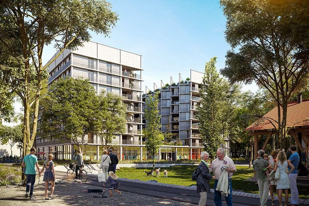 Schlieren ZH, amRietpark, Engstringerstrasse 5