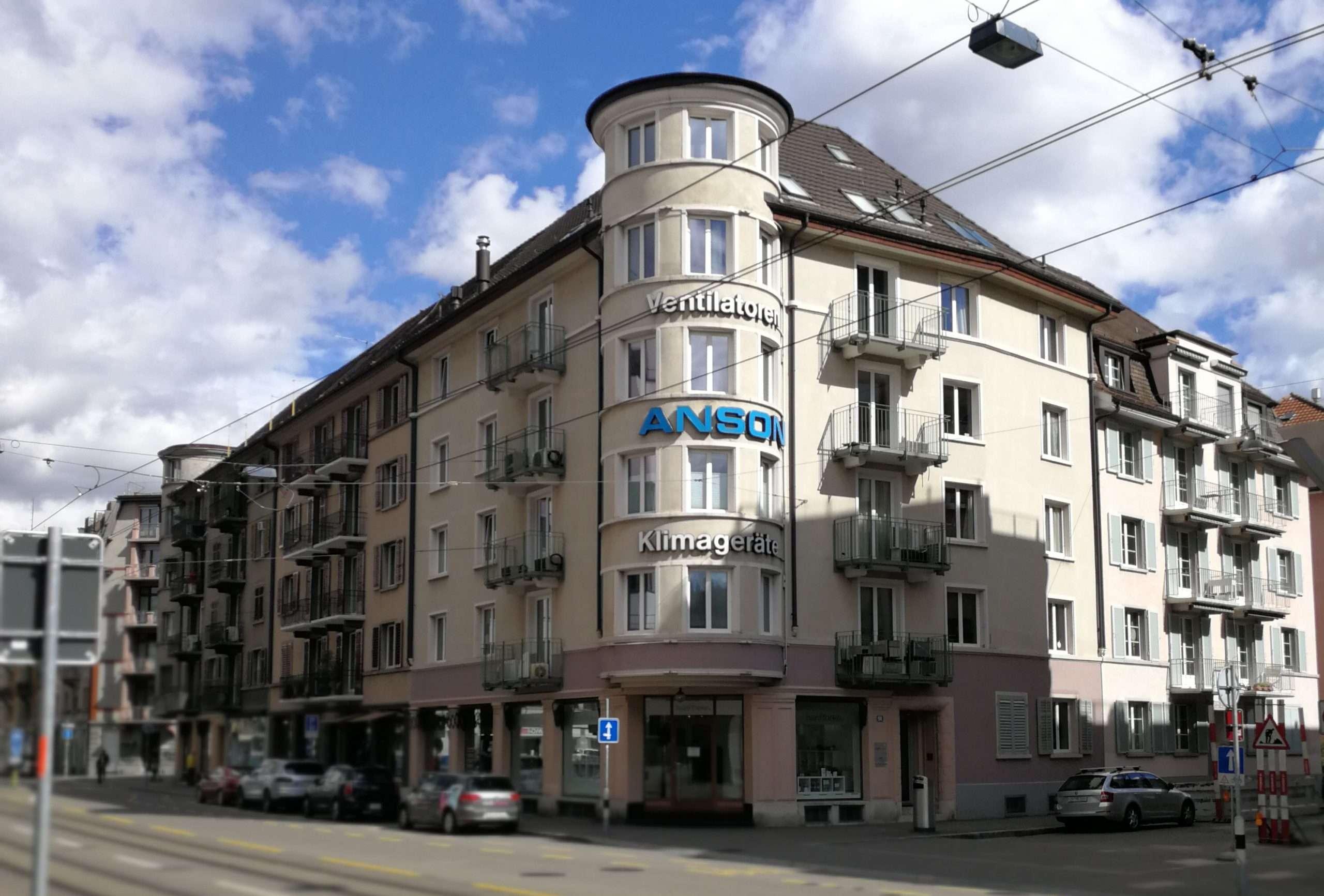 Zürich ZH, Aegertenstrasse