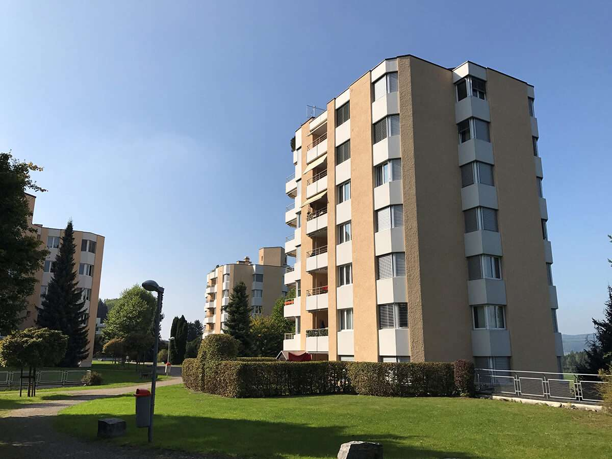 Uzwil SG, Mehrfamilienhäuser